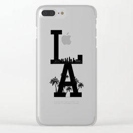 LA Clear iPhone Case