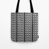 versace Tote Bags featuring Versace Versace Versace Versace by hypsterism