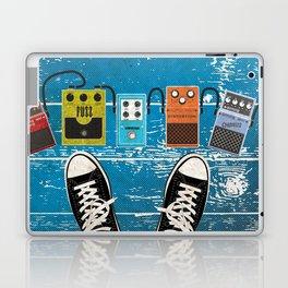 Guitar Music Effect Pedals Laptop & iPad Skin