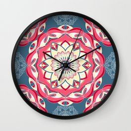 Beautiful mandala pattern Wall Clock