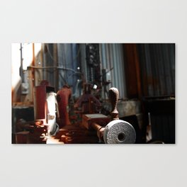 Knob Canvas Print