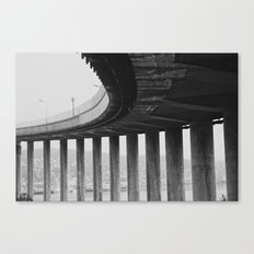 Tromsø bridge 1 Canvas Print