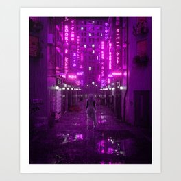 Infiltrated Art Print