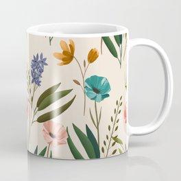 Floral 247 Cream Coffee Mug