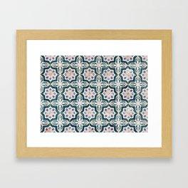 Portuguese Tiles Framed Art Print