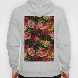 Vintage & Shabby chic - floral roses flowers rose Hoody