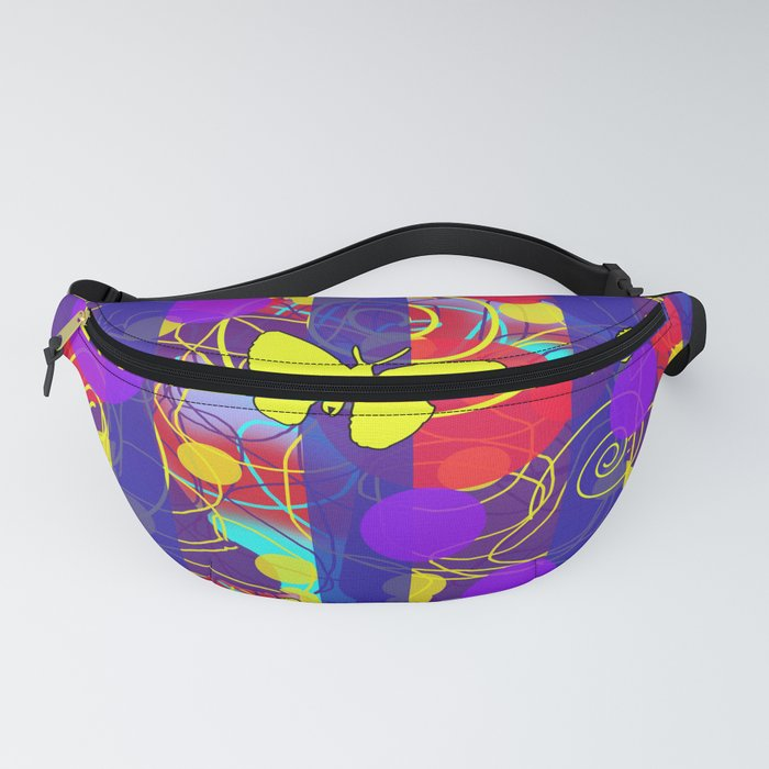 Happy Spring Pattern Fanny Pack