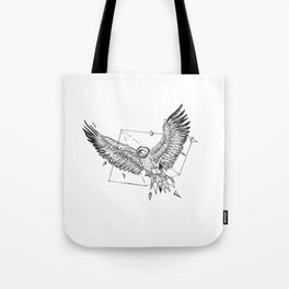 Geometric Season1:6 Eagle Tote Bag