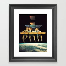 'Who We Know' Framed Art Print
