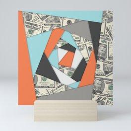 Layered Money Mini Art Print