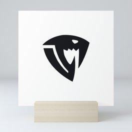 Fairy Tail Sabertooth symbol Mini Art Print