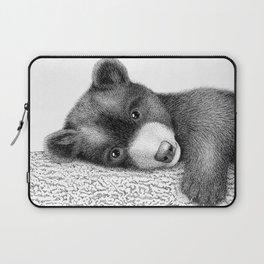 Sleepy bear Laptop Sleeve