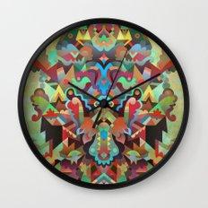 Dæmon [treatment 2] Wall Clock