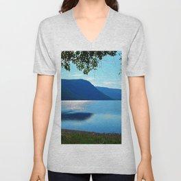 Lake View Unisex V-Neck