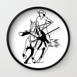 The Home Stretch Wall Clock