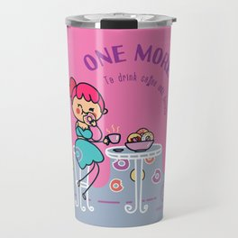 Coffee and donuts Travel Mug