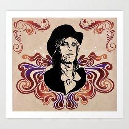 Tom Petty Tribute Mural Art Print