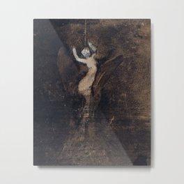 Victor Hugo: Woman or Undine Metal Print