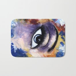 Title: Very Beautiful Eye painting Bath Mat