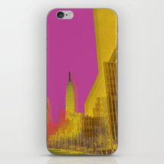 PINK NYC iPhone & iPod Skin