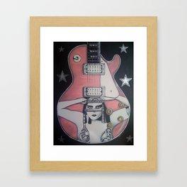 The Vamp Framed Art Print