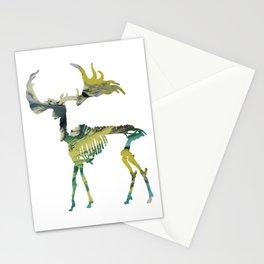 Deer Skeleton Stationery Cards