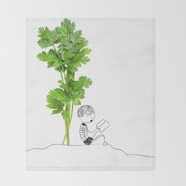 reading Throw Blanket