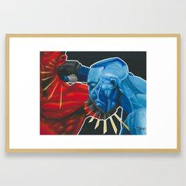 Rock Em Sock Em MMA Framed Art Print