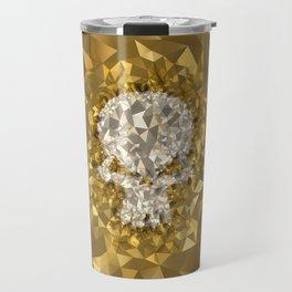 POLYNOID Skull / Gold Edition Travel Mug