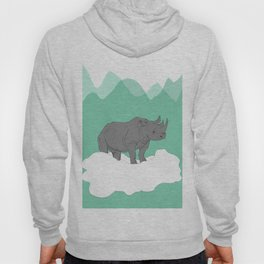 Floating Rhino Hoody