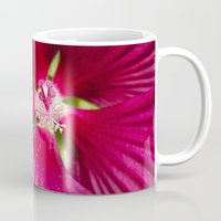 hibiscus Mugs featuring Hibiscus by Christina Rollo