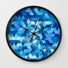 Cold Snowflake Wall Clock
