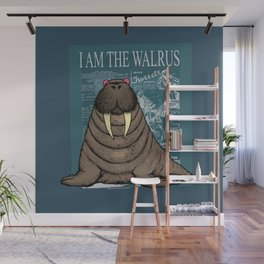 I Am the Walrus Wall Mural