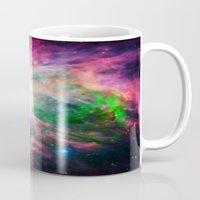 nebula Mugs featuring Orion NebuLA Colorful Purple by 2sweet4words Designs