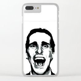 American Psycho Clear iPhone Case