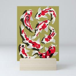 Koi Carp Zen Mini Art Print