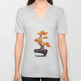 Bonsai Series Unisex V-Neck