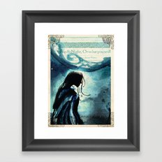 Twelfth Night Viola Framed Art Print
