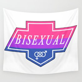 Identity Stamp: Bisexual Wall Tapestry