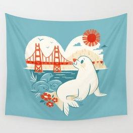 I Heart San Francisco Wall Tapestry
