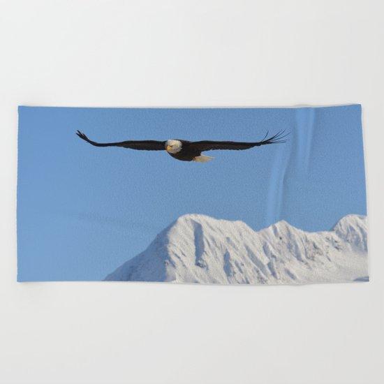 Bird's Eye View! Beach Towel