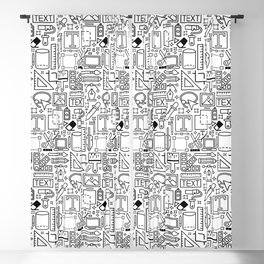 Graphic Design Tools Blackout Curtain