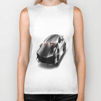 lamborghini Biker Tanks featuring Just a Lamborghini by Ispas Sorin