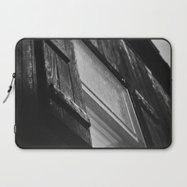 Black and White Barn Window Laptop Sleeve