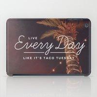 taco iPad Cases featuring Taco Tuesday by Zeke Tucker