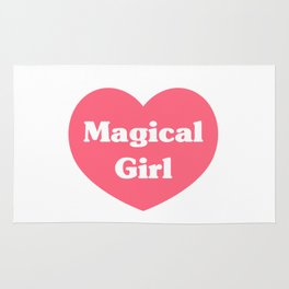 Heart Magical Girl Rug