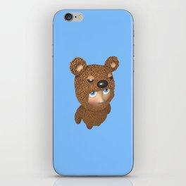 Furry baby iPhone Skin