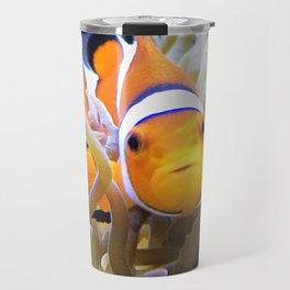 Clownfish In Anemone Travel Mug