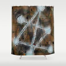 solving mysteries Shower Curtain