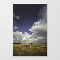 oklahoma Canvas Prints featuring Oklahoma by Tanner Albert
